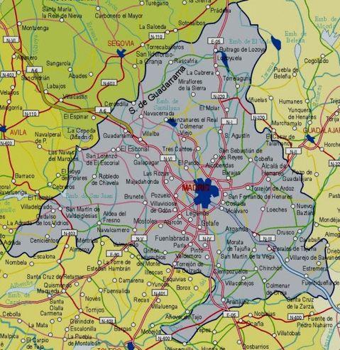 Mapa-carreteras-Comunidad-de- ...