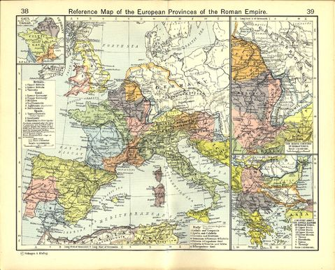 European Provinces of the Roman Empire