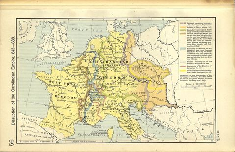 The Disruption of the Carolingian Empire 843-888