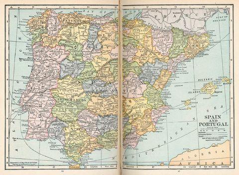 political maps of spain. 2010 De rey political map