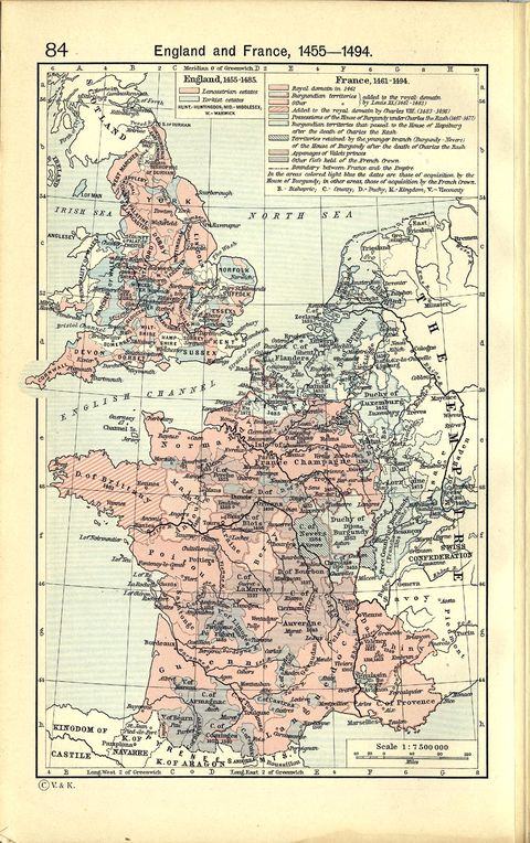 map of france and england. Map of England and France,