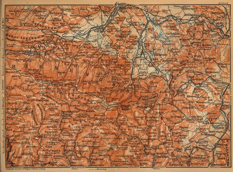 map of germany and austria. Germany, Austria a map of