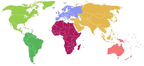 Mapa de asia politico en blanco