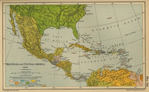 map of mexico and south america with capitals. Central America and the