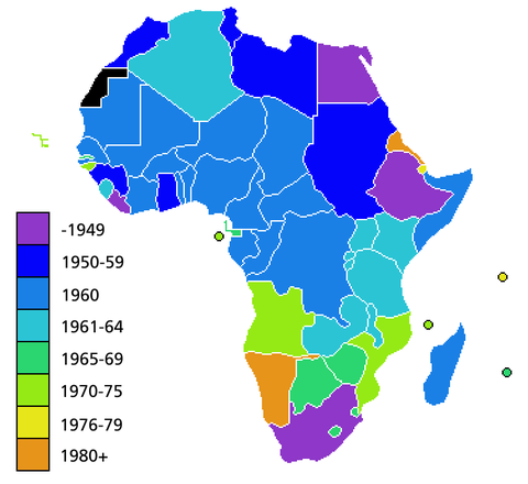 Independence of African countries