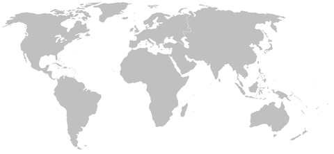 Mapa mudo del mundo