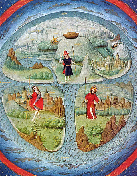 Jyxuvawaky the world is flat map historical flat earth map gumiabroncs Gallery
