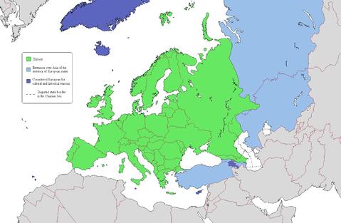 mapa de europa mudo. Mapa politico mudo de Europa