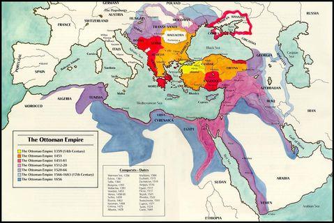 The Ottoman Empire 1359-1856