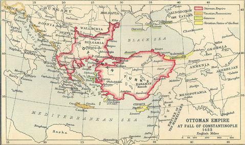 Imperio Otomano A La Ca 237 Da De Constantinopla 1453