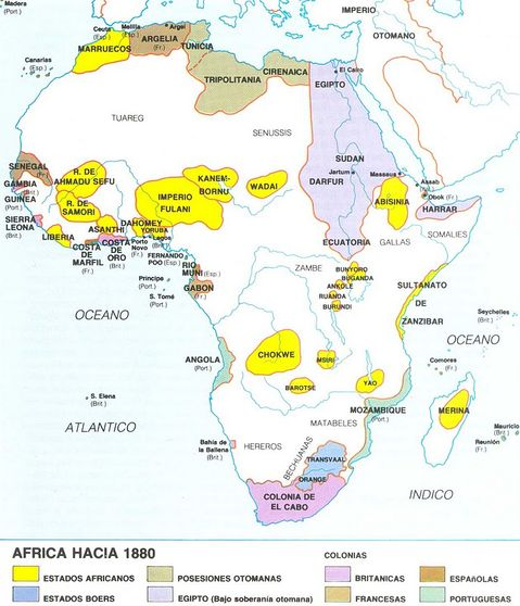 state formation in africa before a d 1880 The region shares it's early history with all of west africa some of the earliest   none of the parties are formed inside the colony kwame  ghana officially  becomes a one-party state and nkrumah gains the power of a dictator criticised  by.