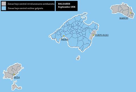 Tamaño Islas Baleares Islas Baleares Septiembre 1936