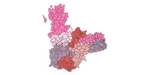 Provincia Valladolid Municipios la Provincia de Valladolid