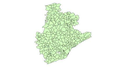Provincia Barcelona Municipios Municipios de la Provincia de