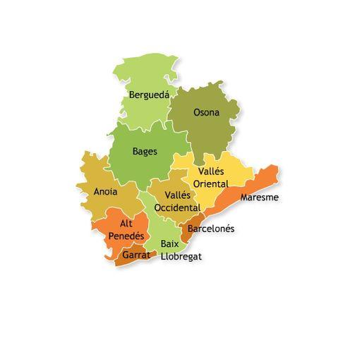 Provincia Barcelona Municipios la Provincia de Barcelona
