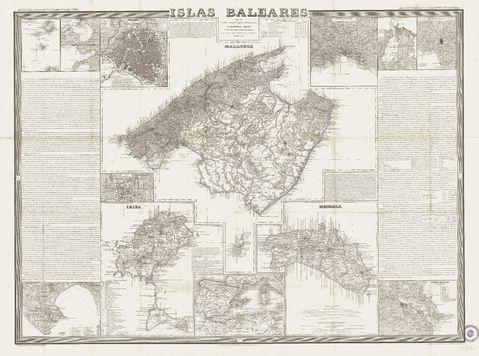 Tamaño Islas Baleares Islas Baleares 1851 Tamaño