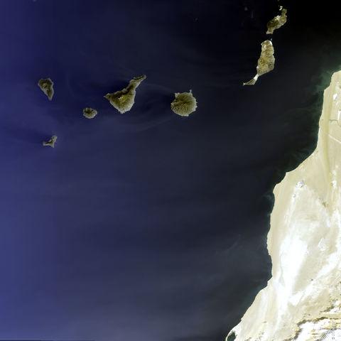 Tamaño Islas Canarias de Las Islas Canarias 2005