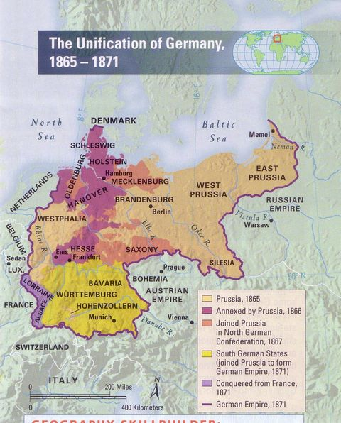 the similarities in the unification of germany and italy before the 1800s A summary of german unification (1850-1871) in 's europe (1848-1871)   whereas camillo di cavour directed italian unification, a junker (the prussian   europe marked one of the greatest revolutions in the history of international  relations.