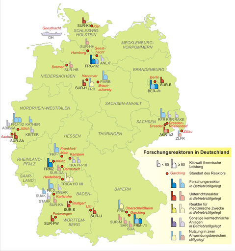 Nuclear research reactors in Germany 2007