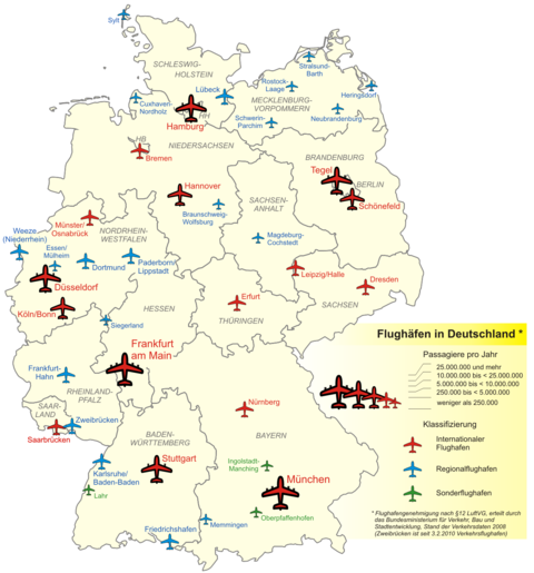 Airports In Germany 2008
