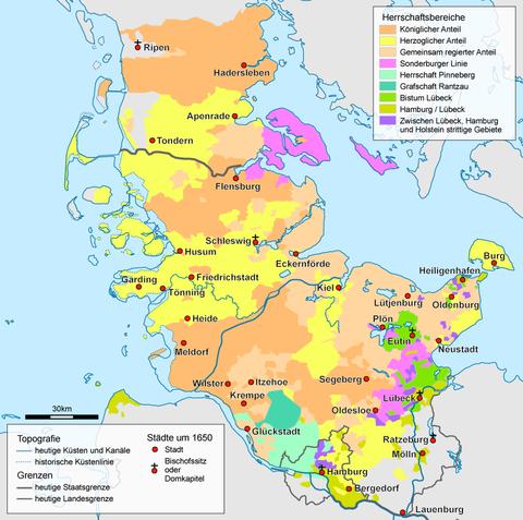 Schleswig Holstein Schleswig-holstein After 1650