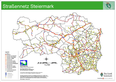 Map of Styria 2007