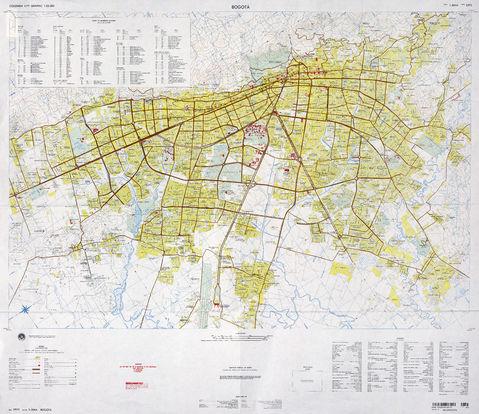 Mapa de bogot for Direccion ministerio del interior bogota