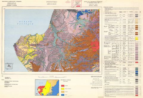 Soil of Portoviejo area 1976