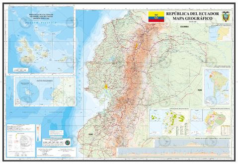 Map of Ecuador 2011