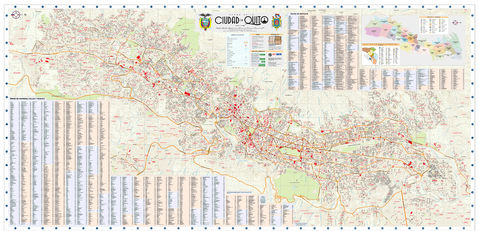 Map of Quito 2009