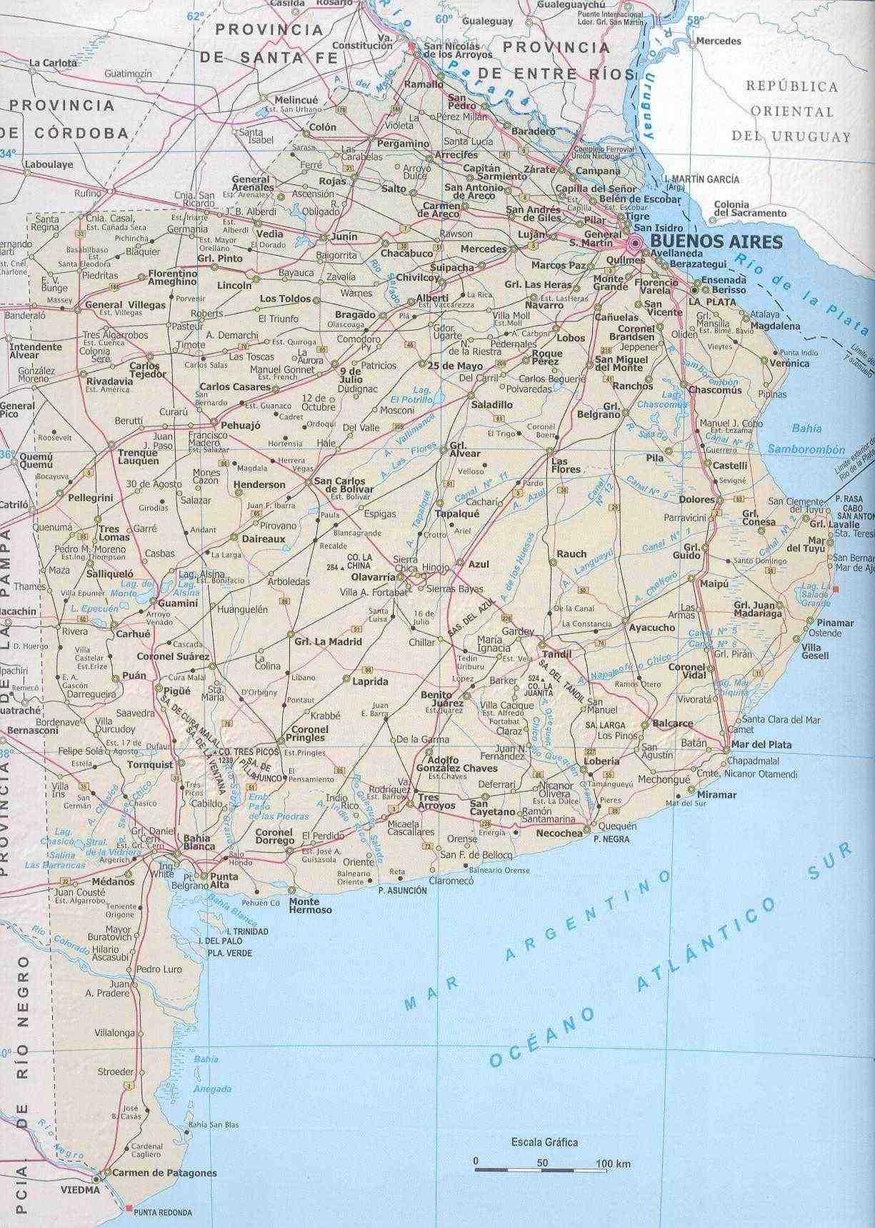 Mapa Provincia de Buenos Aires ...