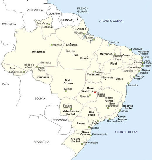 Mapas Cidades do Brasil