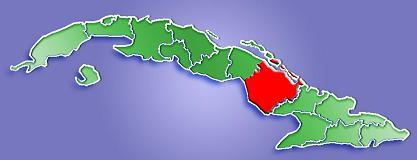 Mapa De Localizaci 243 N Provincia De Camag 252 Ey Cuba