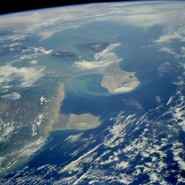 ... Satelite, Foto, Imagen Satélite de la Region del Golfo de Venezuela