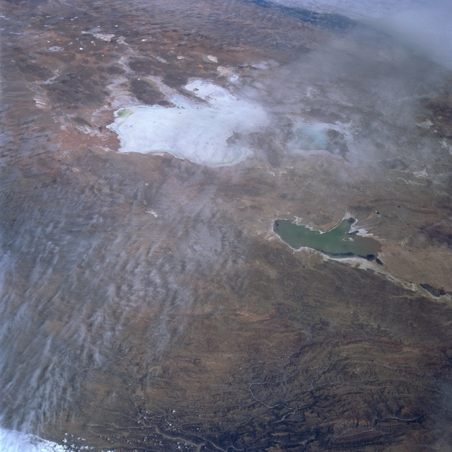 Mapa Satelital, Foto, Imagen Satelite del Lago Poopó, Salar de Uyuni, Bolivia