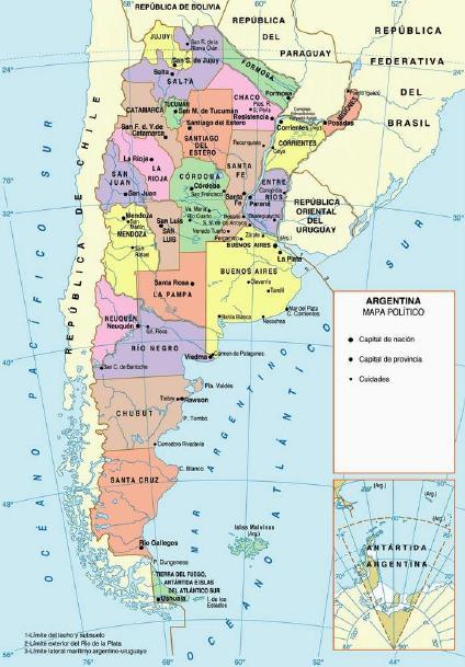 Argentina Province Maps