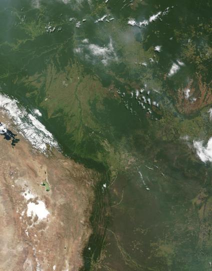 Mapas, Mapa Satelital, Foto, Imagen Satelite de Bolivia
