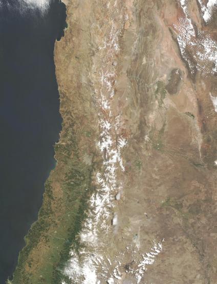 Mapas, Mapa Satelital, Foto, Imagen Satelite de Chile
