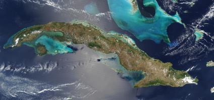 Mapas, Mapa Satelital, Foto, Imagen Satelite de Cuba