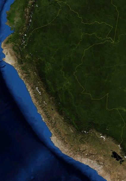 Mapas, Mapa Satelital, Foto, Imagen Satelite de Ecuador