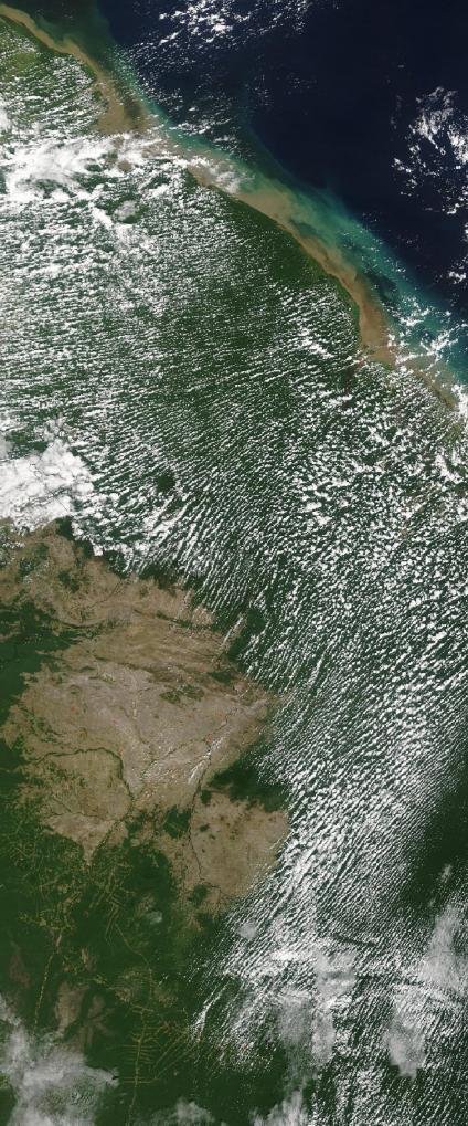 Mapas, Mapa Satelital, Foto, Imagen Satelite de Guyana