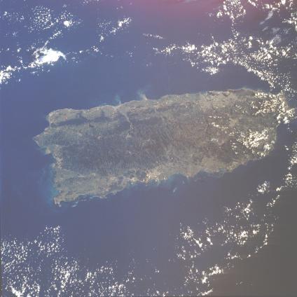 Mapas, Mapa Satelital, Foto, Imagen Satelite de la Isla de Puerto Rico