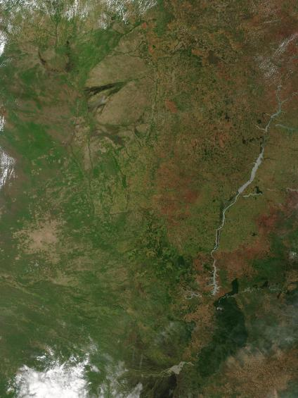 Mapas, Mapa Satelital, Foto, Imagen Satelite de Paraguay