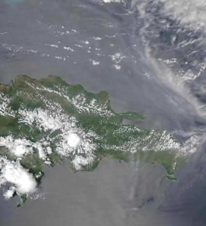 Mapas, Mapa Satelital, Foto, Imagen Satelite de República Dominicana