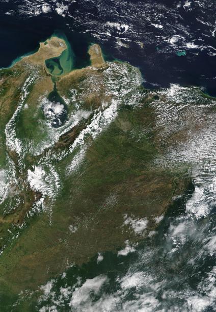 Mapas, Mapa Satelital, Foto, Imagen Satelite de Venezuela
