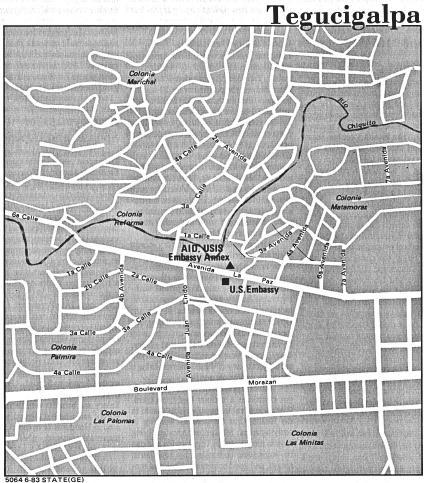 Planeación urbana y mapeo para Tegucigalpa, Honduras