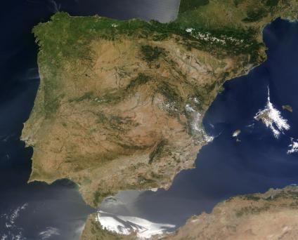 Mapas Satelitales, Fotos, Imagenes Satélites de España