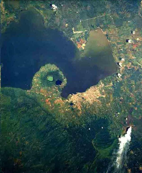 Mapa Satelital, Foto, Imagen Satelite de Managua, Nicaragua