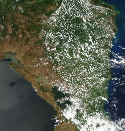 Mapas, Mapa Satelital, Foto, Imagen Satelite de Nicaragua