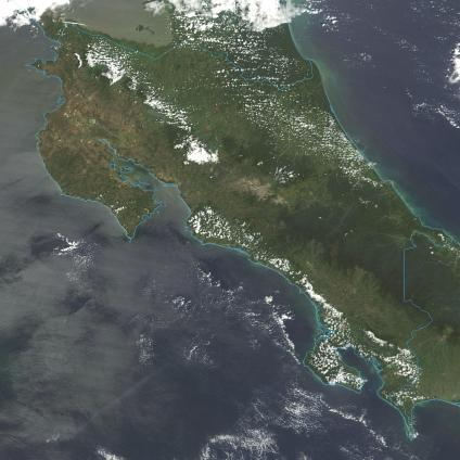 Maps, Satellite Photos and Images of Costa Rica